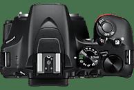 NIKON D3500 Spiegelreflexkamera, 24.2 Millionen Pixel, 18-55 mm Objektiv, Schwarz