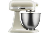 KITCHENAID 5KSM3311 XEAC Mini Küchenmaschine Creme (Rührschüsselkapazität: 3,3 Liter, 250 Watt)