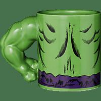 AMS Incredible Hulk Tasse Torso Arm Tasse, Mehrfarbig