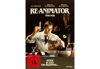 Re-Animator 1-3 (3-Disc Digipak) - (DVD)