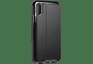 TECH21 Evo Wallet, Bookcover, Apple, iPhone XS, Schwarz