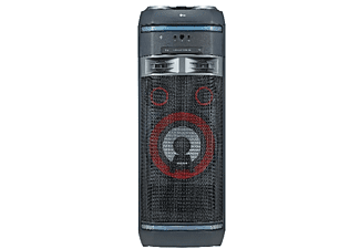 Altavoz gran potencia - LG OK75, 1000 W, Efectos DJ, Bluetooth, CD, USB, Radio, Negro