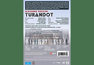 Rebeka Lokar, Jorge De León, Erika Grimaldi, In-sung Sim, Orchestra And Chorus Teatro Regio Torino - Turandot  - (DVD)