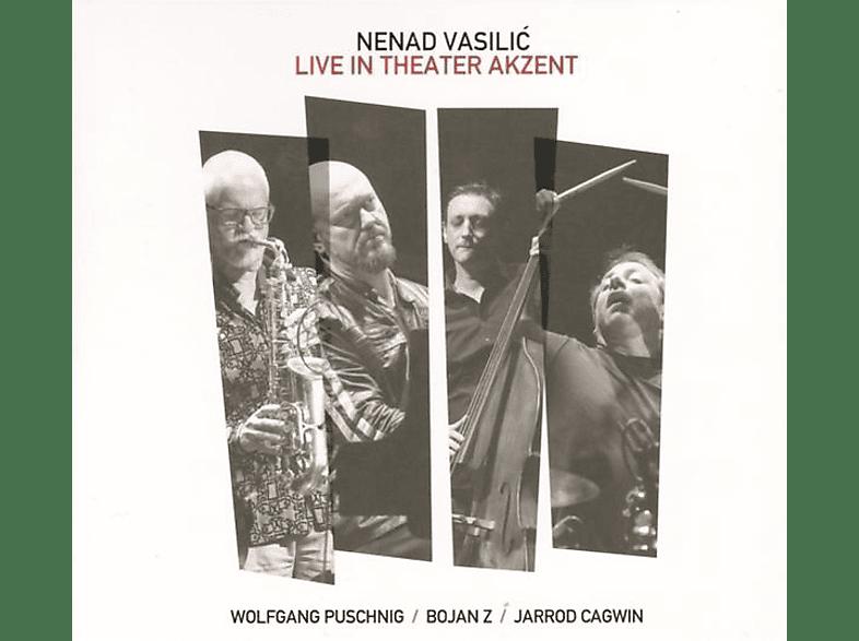 Nenad Vasilic, Wolfgang Puschnig, Bojan Z, Jarrod Cagwin - Live in Theater Akzent (LP) [Vinyl]