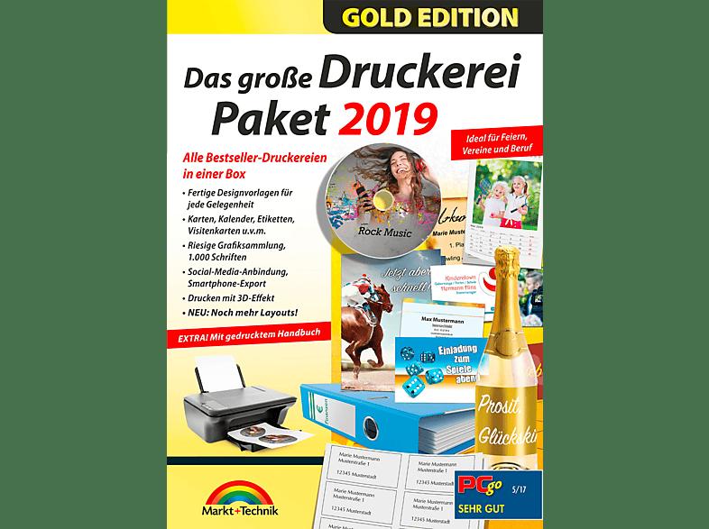 Das Große Druckerei Paket 2019 Backup Brennen Mediamarkt