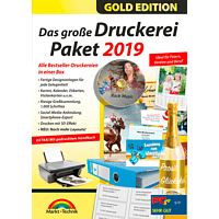 Das große Druckerei Paket 2019