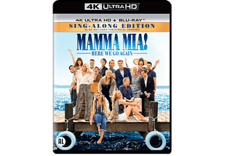 Mamma Mia! Here We Go Again - 4K Blu-ray