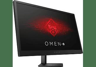 "Monitor gaming - HP OMEN 25, 24.5"" Full HD, 144Hz, LED, HDMI, USB, Negro (Jack Black)"
