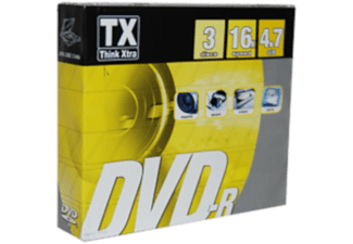 TX Pack 3 DVD-R 4.7 GB 16x (5060046674349)