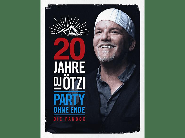 DJ Ötzi - 20 Jahre DJ Ötzi – Party ohne Ende (Limited Fanbox) [CD]