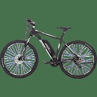 FISCHER - FAHRRAD EM 1724 Mountainbike (29 Zoll, 51 cm, MTB Rahmen, 422 Wh, Signalschwarz matt)