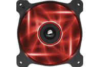 CORSAIR Air Series AF120 LED Red Quiet Edition Gehäuselüfter, Schwarz/Rot