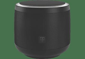 TELEKOM Smart Speaker mit Sprachsteuerung, Schwarz