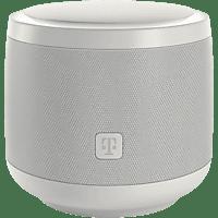 TELEKOM Smart Speaker mit Sprachsteuerung, Weiß