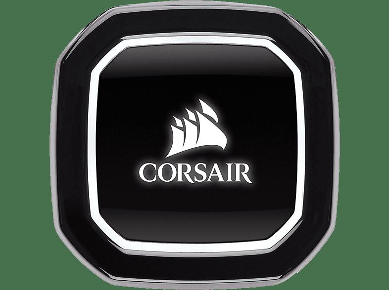 CORSAIR Hydro Series H100x CPU Wasserkühler, Schwarz