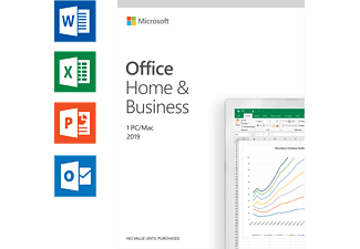 Office 2019 Home & Business (UK) - 1 PC ou Mac