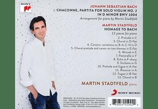 Martin Stadtfeld - Homage to Bach [CD]