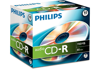 PHILIPS Pack 10 CD-R 700 MB 52x (4021587502561)