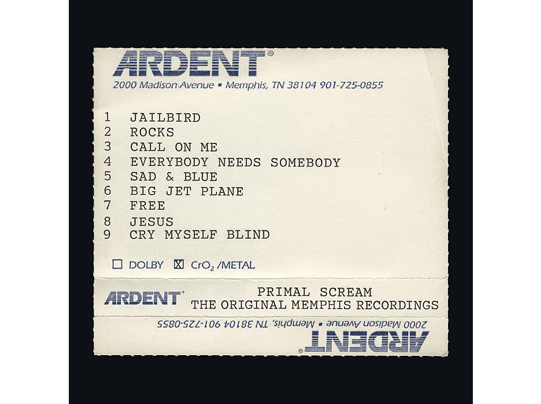 Primal Scream - Give Out But Don't Give Up-The Original Memphis [CD]