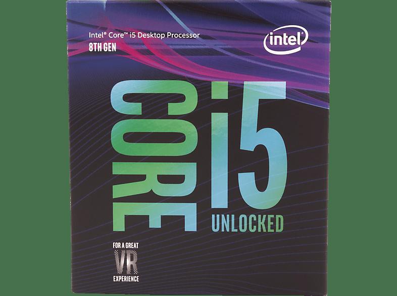 INTEL Core™ i5-8600K Prozessor
