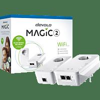 Powerline Adapter DEVOLO 8383 Magic 2 WiFi 2-1-2 Starter Kit Powerline 2400 Mbit/s Kabellos und Kabelgebunden