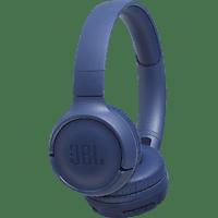 JBL Tune 500 BT, On-ear Kopfhörer Bluetooth Blau