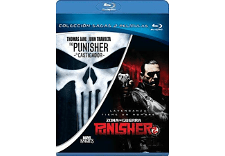 The Punisher (El Castigador) + Punisher 2: Zona De Guerra - Blu-Ray