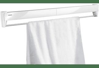 Tendedero - Leifheit Telegant 81 Protect Plus, De pared, Plegable, 8 barras, 8.10 m secado, Blanco