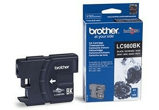 Brother LC980BK - Negro - original - cartucho de tinta - para DCP 145, 163, 165, 167, 193, 195,