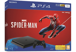 Consola - PS4 Slim 1TB + Marvel Spider-Man