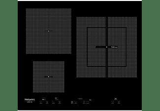 Encimera - Hotpoint KID630LC, Inducción, Eléctrica, 3 zonas, 28 cm, Negro