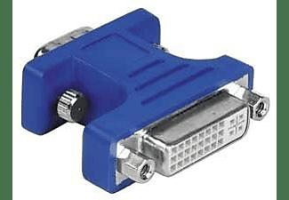 Adaptador Dvi - Hama Adapter 15-PinHdd Male Plug - Dvi Analogue Female Jack  15-Pin Hdd Dvi Azul-