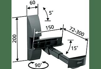 Soporte altavoces - Vogel's VLB 200 Negro, Estructura de enganche sin tornillos, Negro