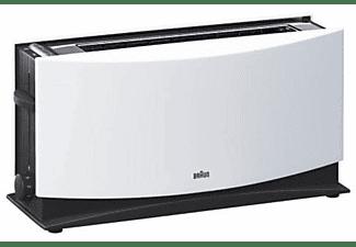 Tosstadora - Braun HT500 Multiquick 5, 1080 W, 1 Ranura, Descongelar, Recogemigas, Blanco