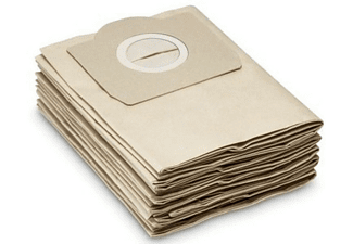 Bolsa de filtro de papel - Kärcher 6.959-130.0 Pack de 5 unidades, Apta para aspirador Kärcher