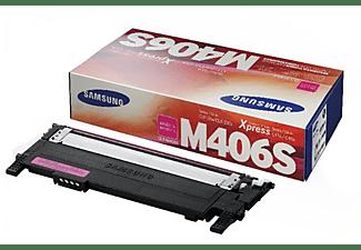 Tóner - Samsung CLT-M406S, magenta e imprime hasta 1000 páginas