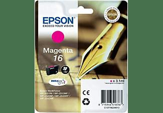 Epson 16 - Magenta para WorkForce WF-2010, WF-2510, WF-2520, WF-2530, WF-2540, WF-2630, WF-2650,