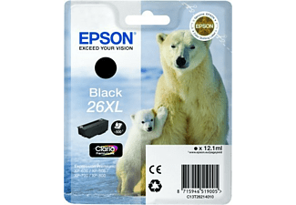 Cartucho de tinta - Epson 26XL Negro