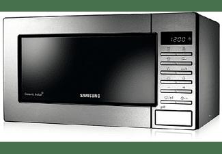 Microondas - Samsung GE 87M-X, 800 W, 23 L, Grill, 7 programas, Inox