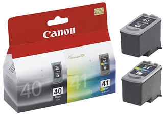 Pack de cartuchos - Canon PG-40/CL-41, negro y tricolor
