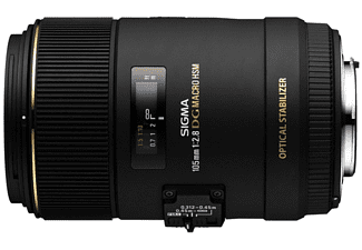 Objetivo - Sigma 105mm F2.8 EX DG Macro OS HSM para Canon