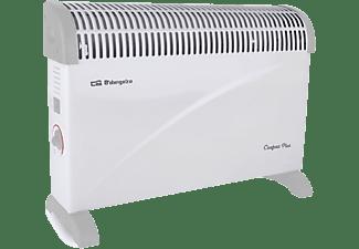 Convector - Orbegozo CV4000 Potencia 2000W, Termostato regulable, Asas de transporte