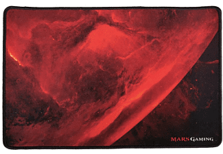 Alfombrilla gaming - Mars Gaming MRMP0, Negro, Rojo