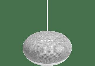 Altavoz inteligente - Asistente Google Home Mini, Smart Home, Domótica, Bluetooth, Sonido 360º, Tiza