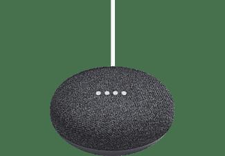 Altavoz inteligente- Asistente Google Home Mini, Smart Home, Domótica, Bluetooth, Sound 360º, Carbón