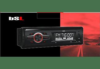 Autorradio - Belson Cbsl-10Bt, 4 x 7 W, Bluetooth, Radio FM, USB, SD, Aux, Negro