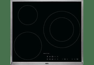 Encimera - AEG IKB63301XB, Inducción, 3 zonas, Zona 28 cm, Hob2Hood, Función Booster