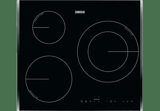 Encimera - Zanussi ZIT6360BB, Inducción, 3 zonas, Zona de 28 cm, Temporizador, Calentamiento