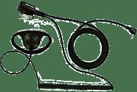 Auricular para Walkie - Talkcom FNTN8005, Tipo D, 100 mW, 72 dB, Negro