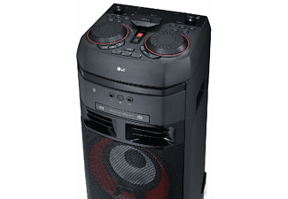 Altavoz gran potencia - LG OK55, 500 W, Efectos DJ, Bluetooth, CD, USB, Radio, Negro